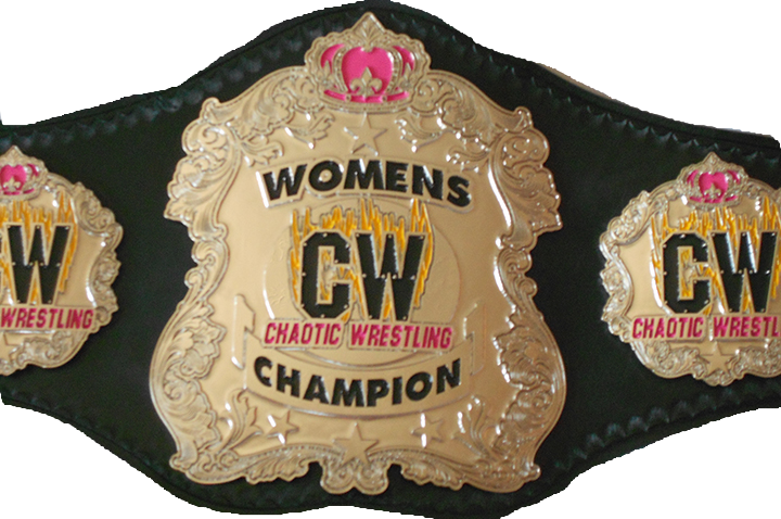 Belts Cw Womens Championship01 - Chaotic Wrestling Women's Championship (720x478), Png Download
