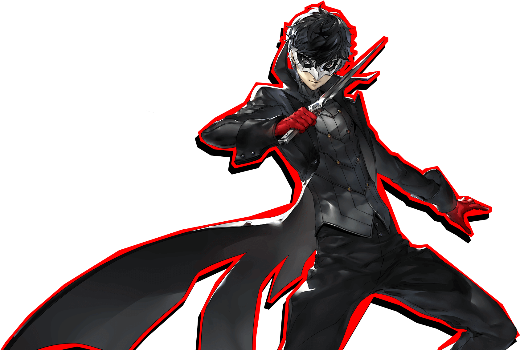 Download A Quiet Guy Who Likes To Wear Earphones Persona 5 Joker Smash Png Image With No Background Pngkey Com