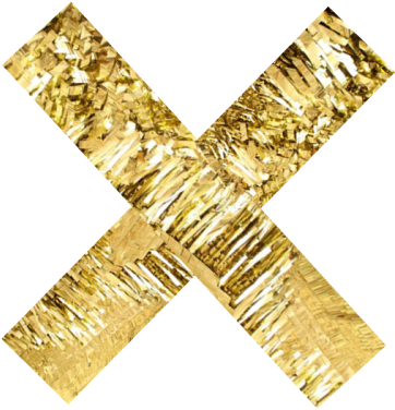 Golden X Gold Everything, Gold Rush, Gold Glitter, - Instagram Divider Gold (500x500), Png Download