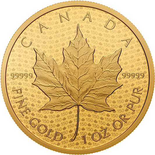 Picture Of Canadian Maple Leaf Neue Limitierte 2017 - Mexican 1 Ounce Gold Coin (570x570), Png Download