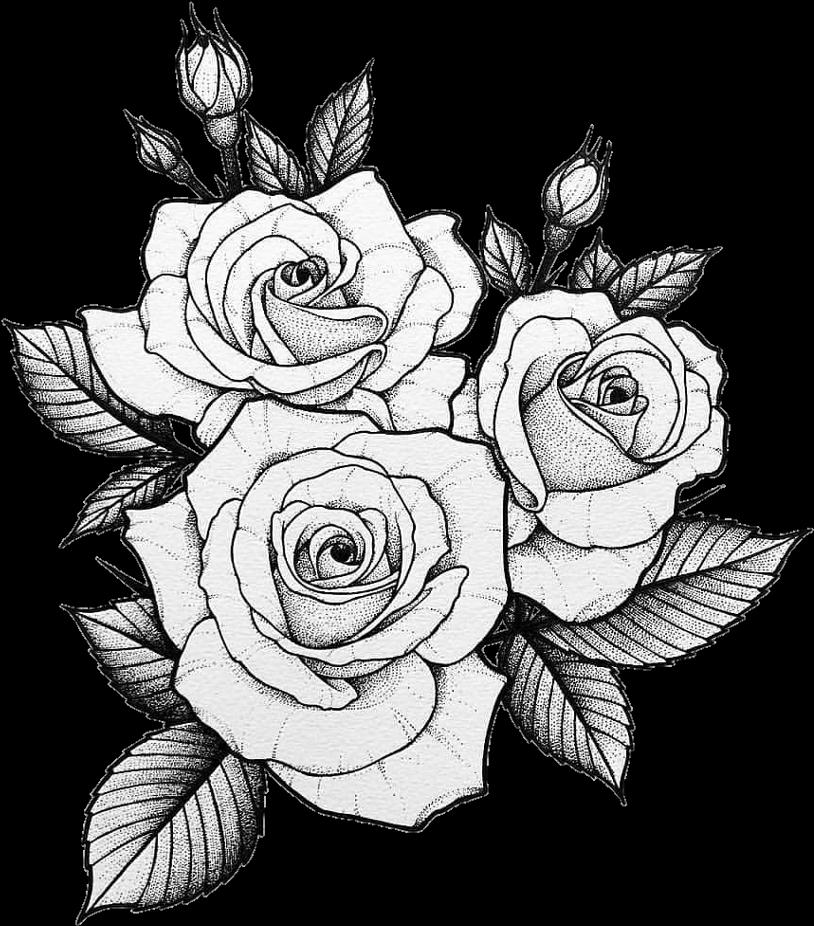 Тату картинки распечатать эскизы роза