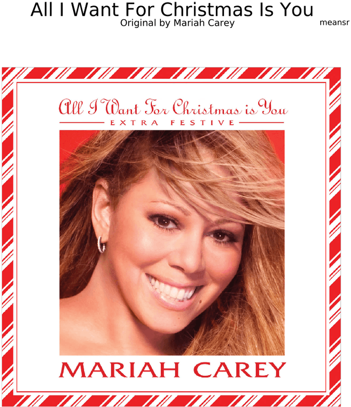 Mariah Carey Merry Christmas.Download All I Want For Christmas Is You By Mariah Carey