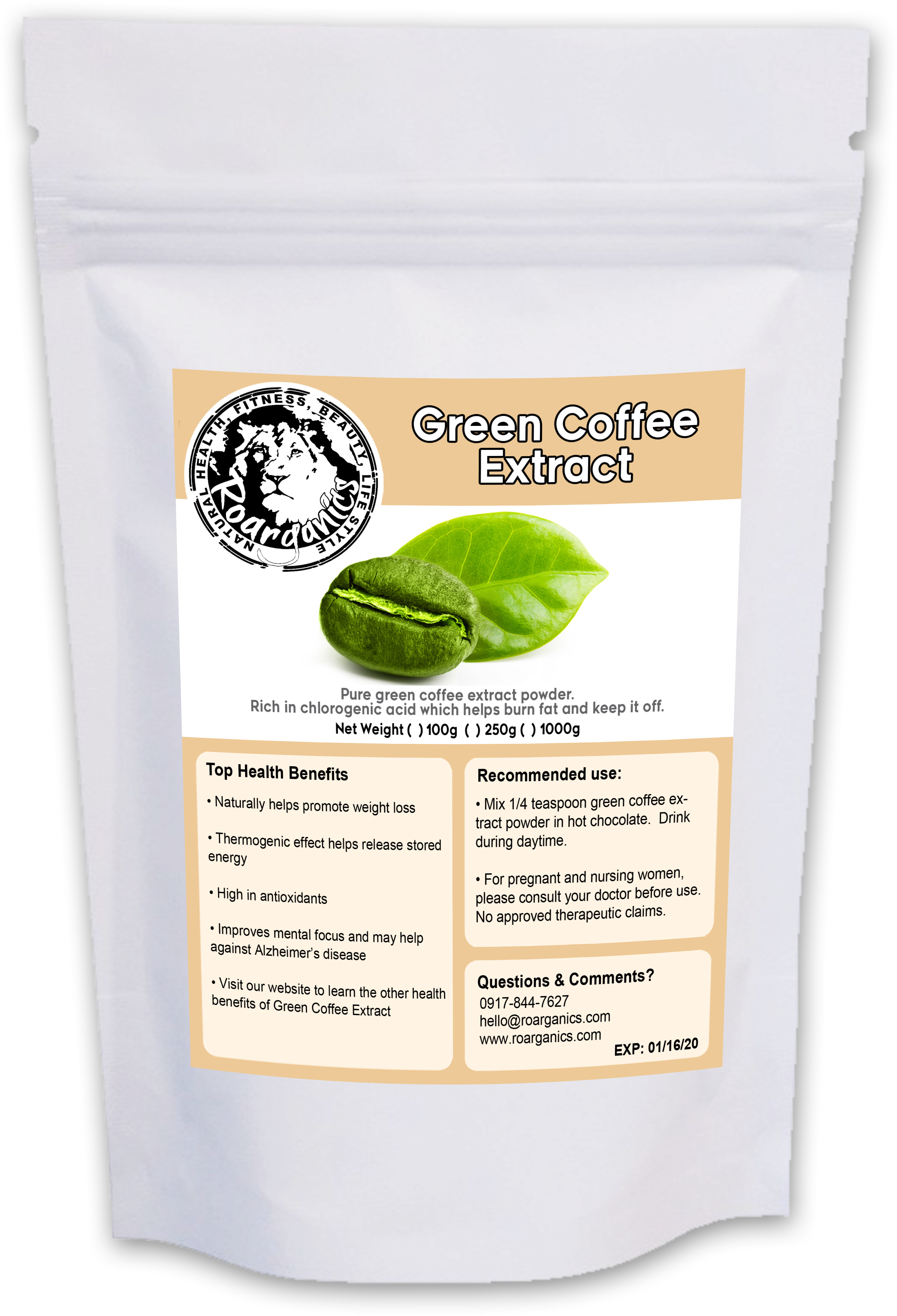 Download Green Coffee Bean Extract Powder Green Coffee Png Image