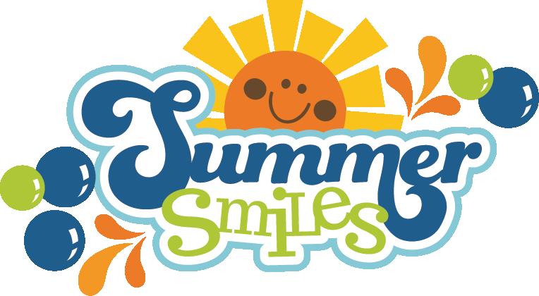 Summer Smiles Svg Scrapbook Title Summer Svg Files - Summer Scrapbook Titles (764x420), Png Download