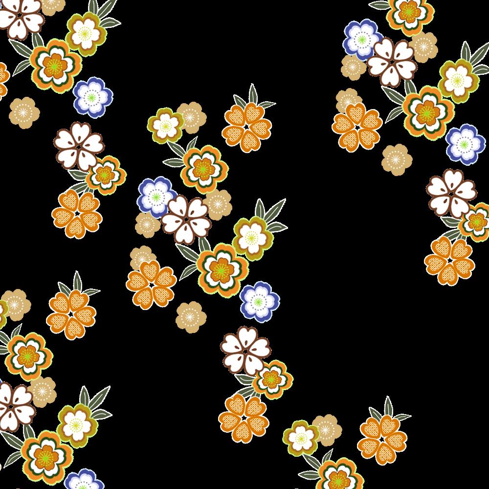 Download Floral Design Clip Art Japanese Pattern Floral Png Png