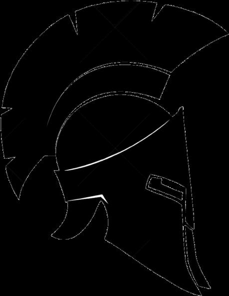 Download Ares Vector Spartan Helmet Side Banner Library ...