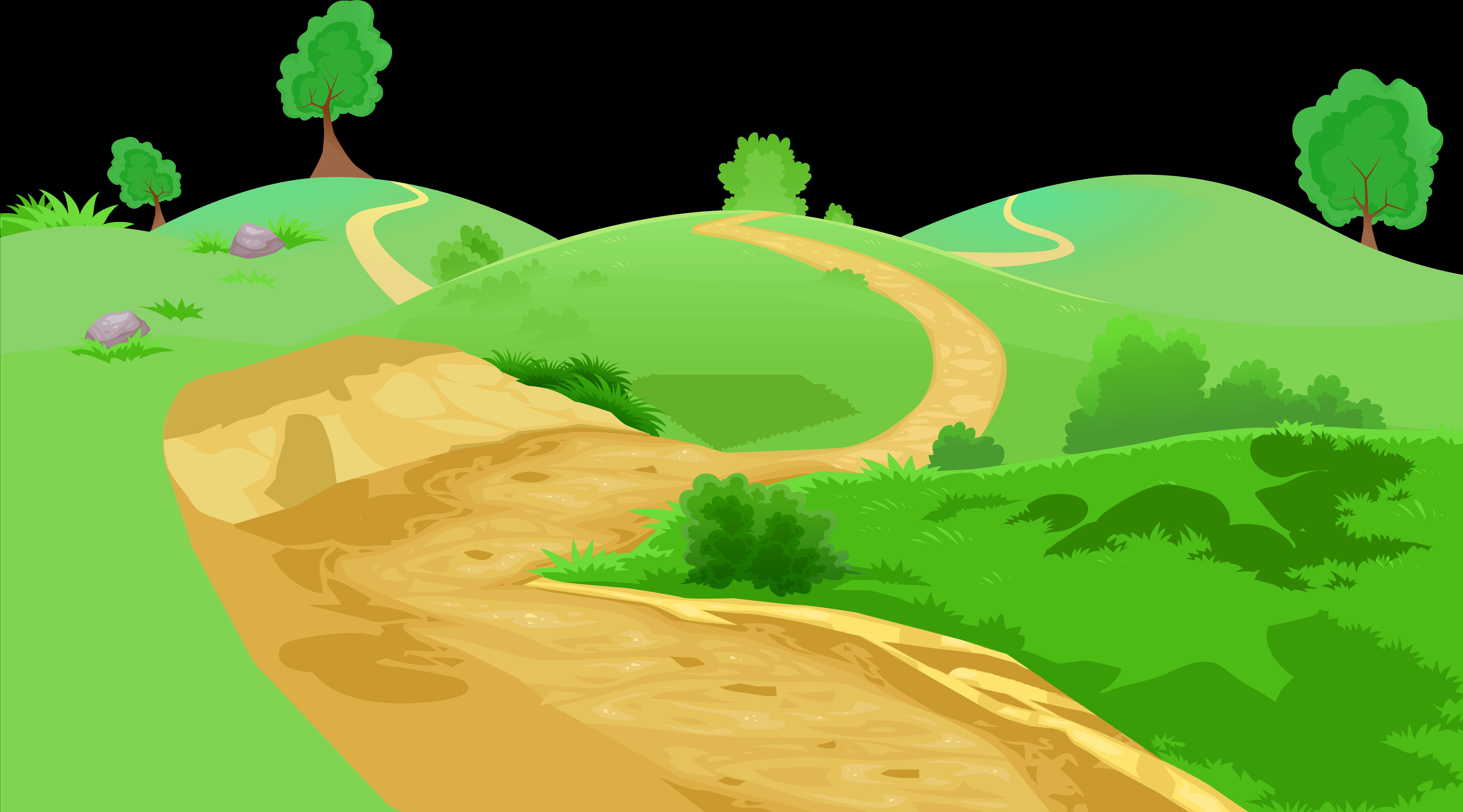 Картинки тропинка анимация