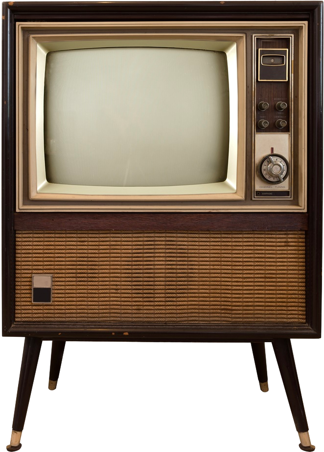 1954 - Sims 4 Old Tv (733x967), Png Download