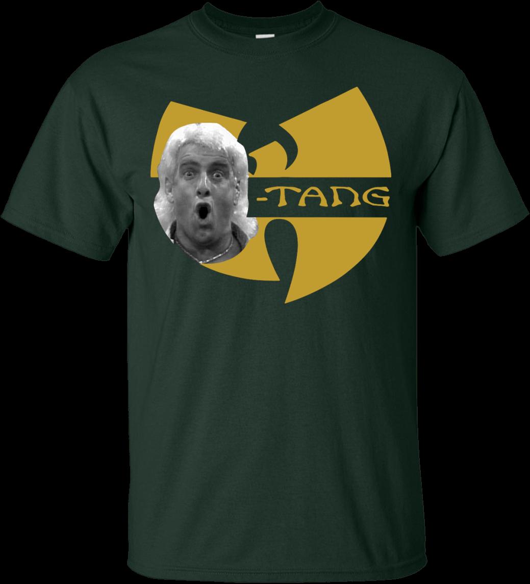 Wu-tang Shirt Rick Flair - Ric Flair Wu Tang Shirt (1155x1155), Png Download
