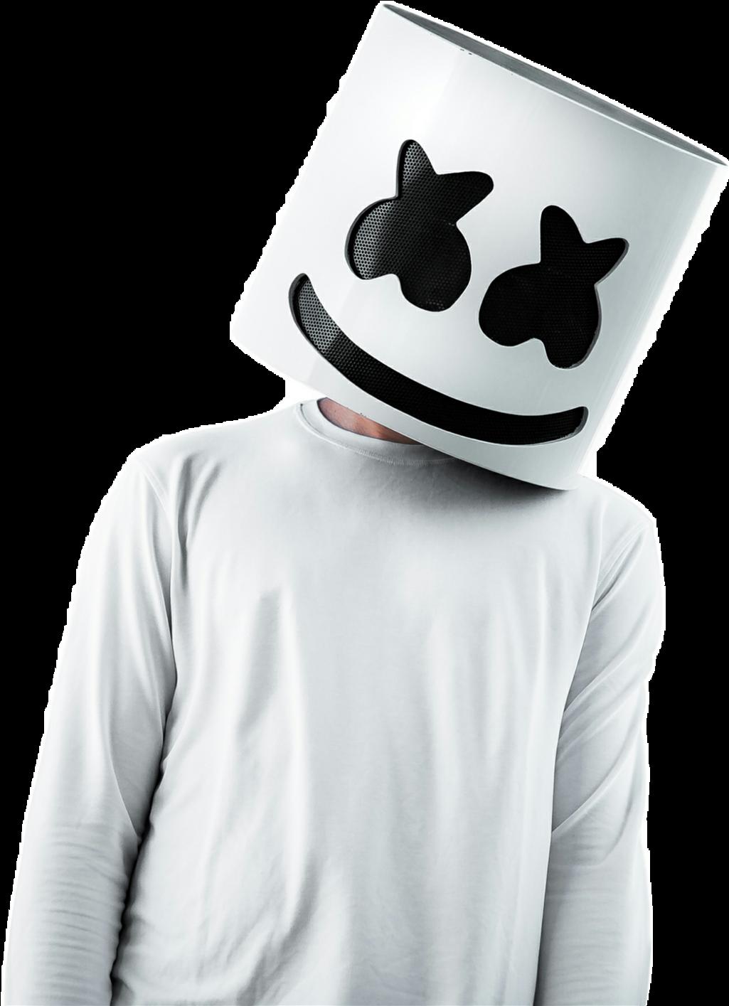 Marshmallow Marshmellow Dude Cool - Marshmello Wallpaper Iphone Hd (1024x1414), Png Download