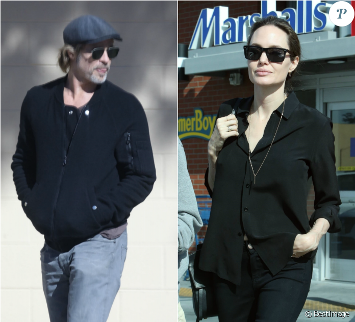 Angelina Jolie Et Brad Pitt - Brad Pitt Et Angelina Jolie 2019 (1200x630), Png Download
