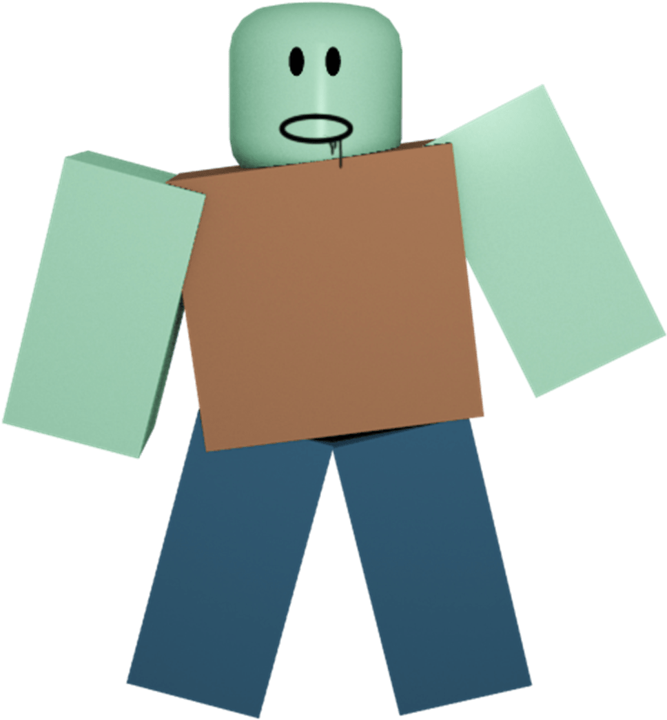 Download Zombie Roblox Wikia Fandom Powered Illustration Png