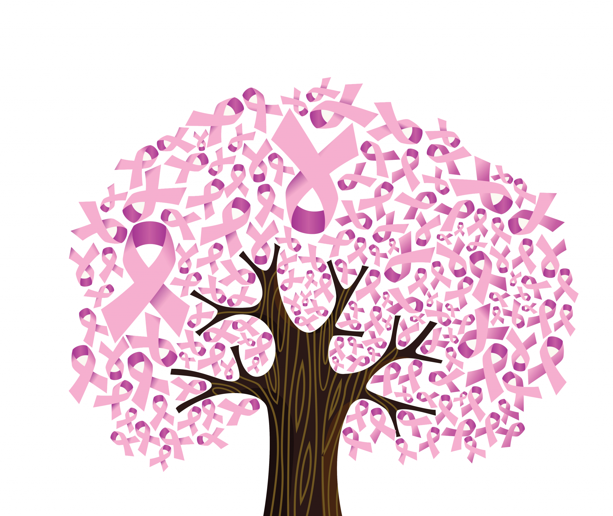 Download Breast Cancer Png Breast Cancer Awareness Tree Png Image With No Background Pngkey Com