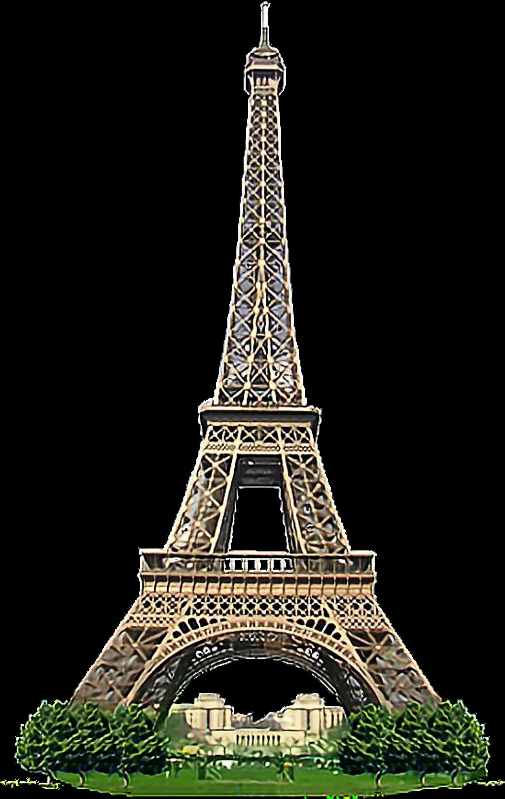 #paris #torre Eiffel - Eiffel Tower - Free Transparent PNG ...