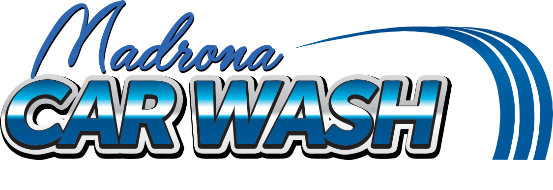 Download Madrona Car Wash Logo Electric Blue Png Image With No