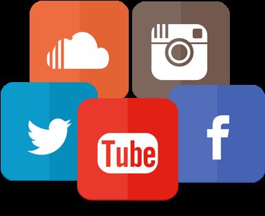 Image - Facebook Twitter Youtube Linkedin Logo (400x331), Png Download