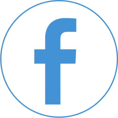 Youtube And Mail Included - Facebook Icon In Png (400x400), Png Download