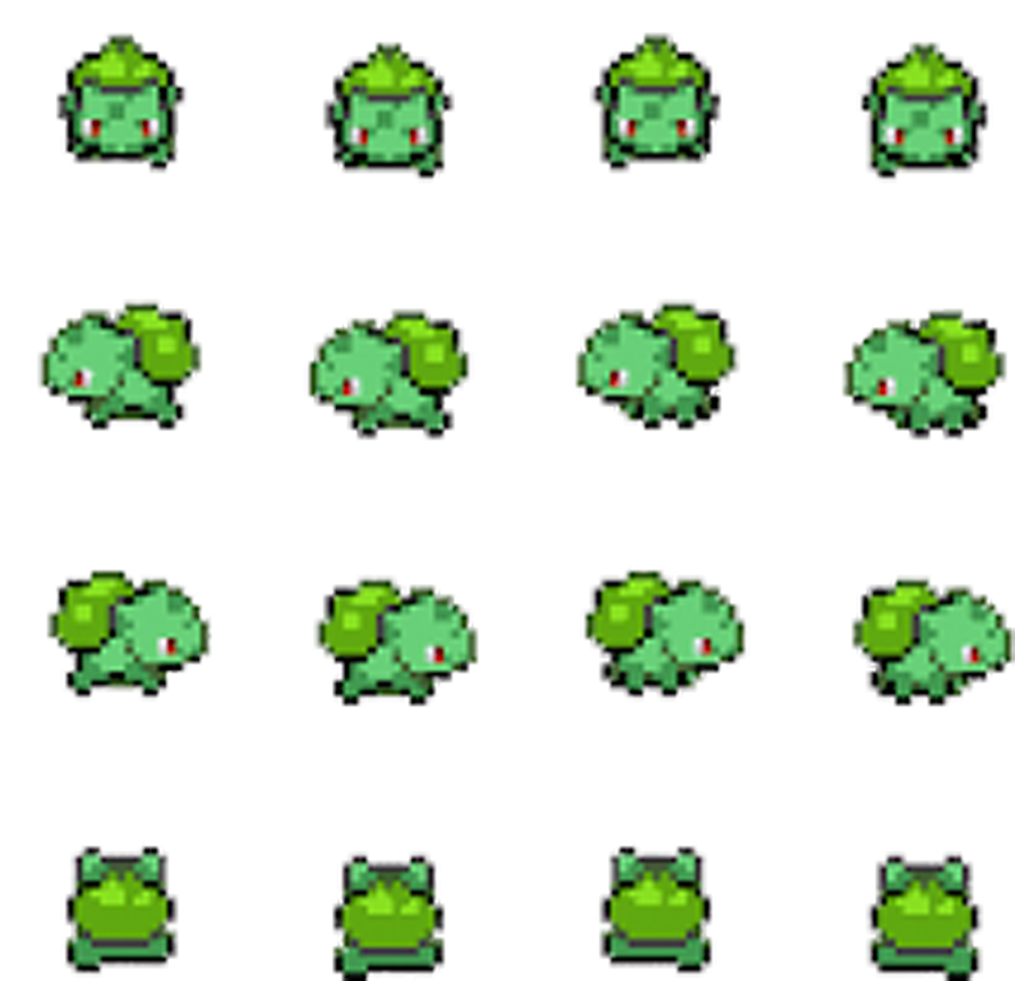 Download Bulbasaur Pokemon Shiny Bulbasaur Sprite Png Image With No Background Pngkey Com Or generation vi pokémon games. download bulbasaur pokemon shiny