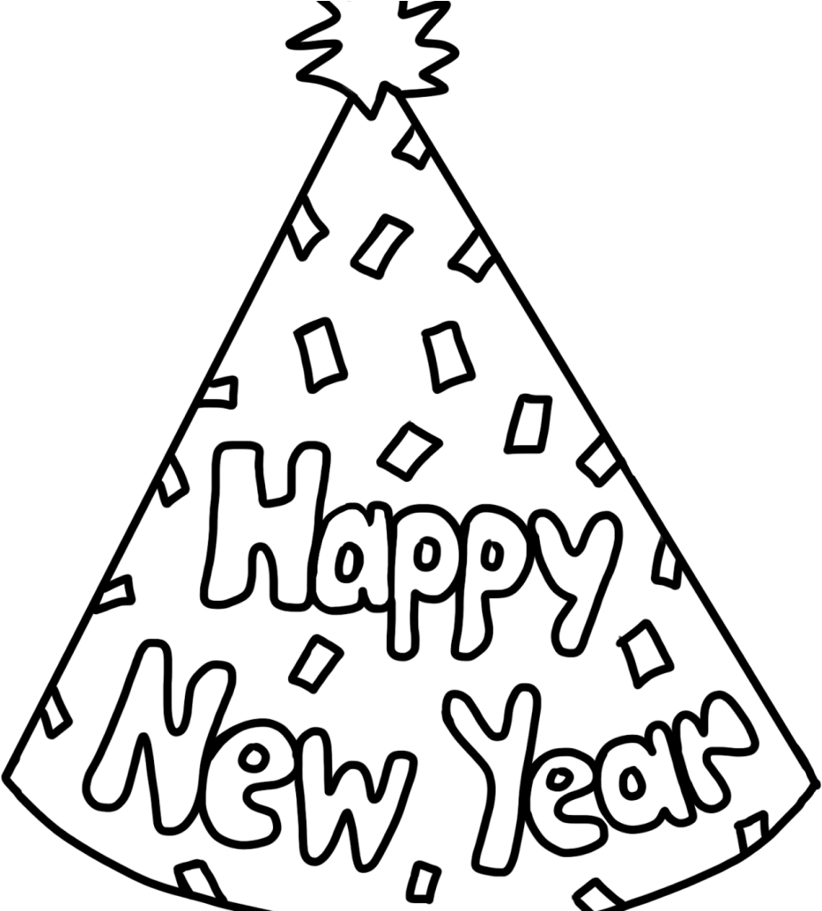 Get This Free Printable New Years Coloring Pages Online 30081 !   1025x924