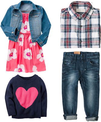 Kids Clothes Png (374x440), Png Download