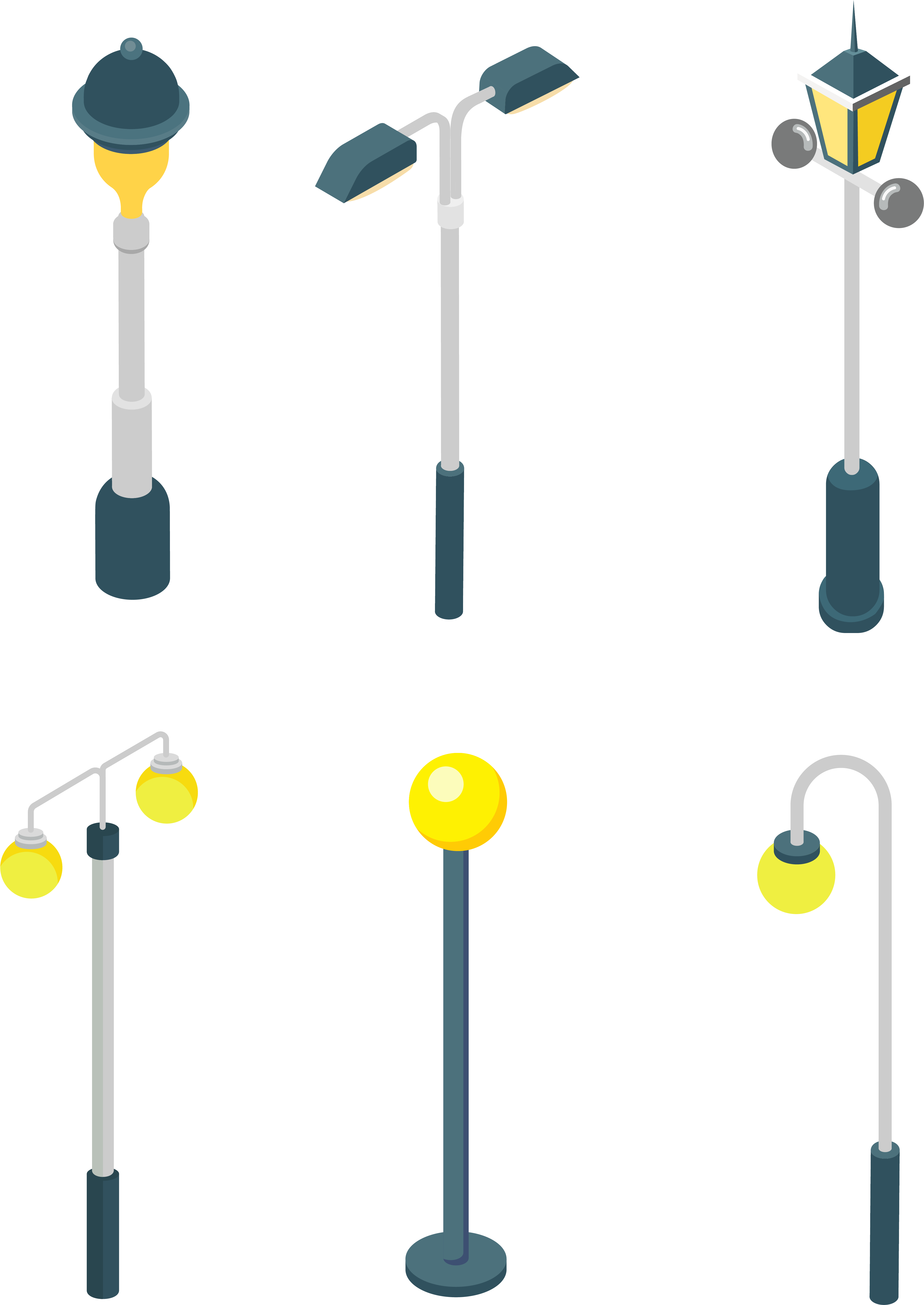 Street Light Bulb Sun Png And Vector Image - Street Light (4267x5705), Png Download