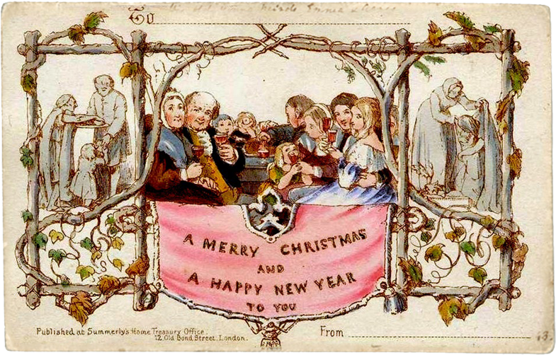 Greetings - Nativity Vintage Merry Christmas (1000x645), Png Download