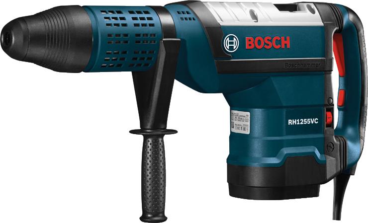 Martillos Sds-max - Bosch Rh1255vc (740x449), Png Download
