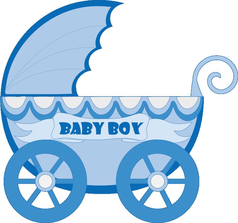 Download Kartki Free Ideas Baby Stroller Clipart Blue Png Image