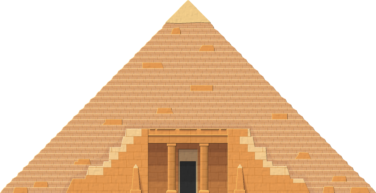 Download Pyramid By Herbertrocha On Deviantart Clip Freeuse Egypt Pyramids Png Clipart Png Image With No Background Pngkey Com