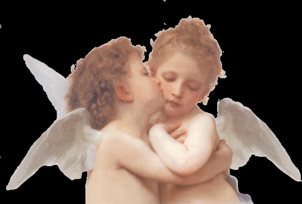 ангел поцелуй картинки